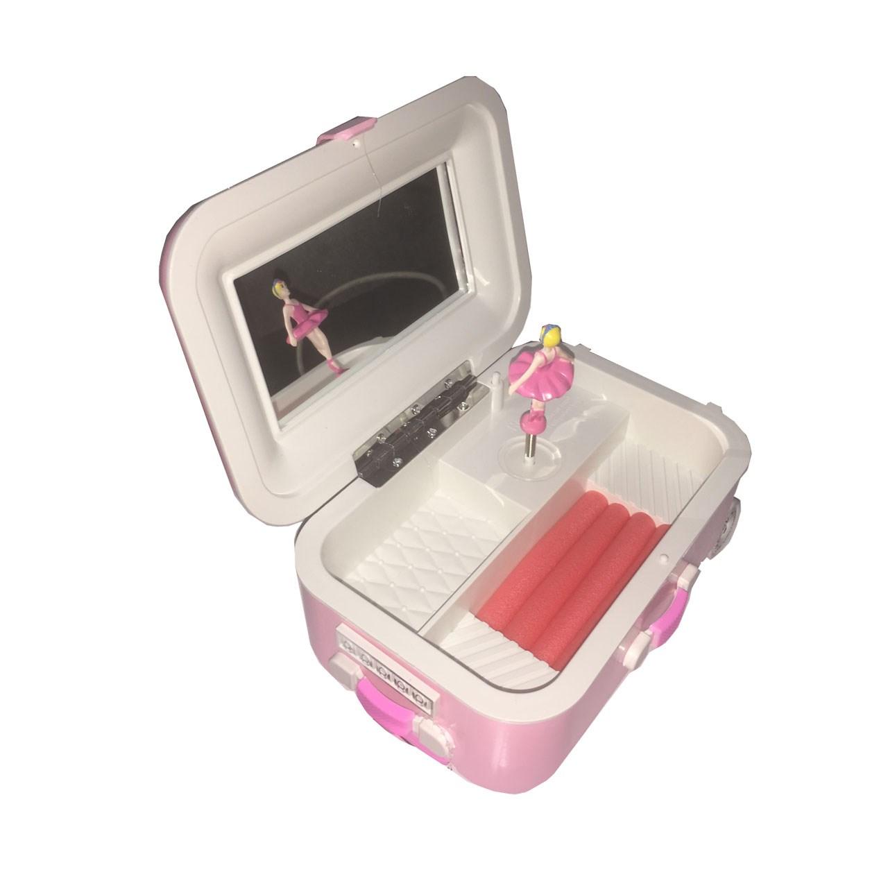 جعبه موزیکال طرح چمدان