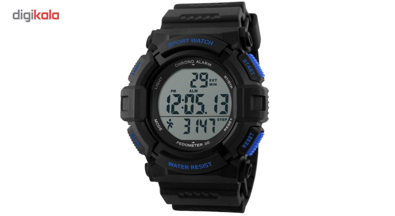 خرید ساعت مچی دیجیتال گام شمار اسکمی مدل 1116 ضد آب