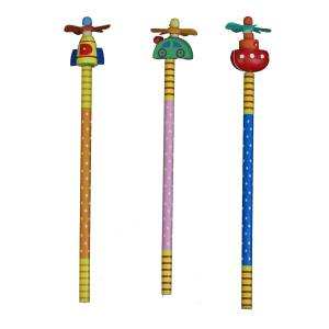 مداد ارت کیوب مدل عروسکی طرح 5003 بسته سه عددی