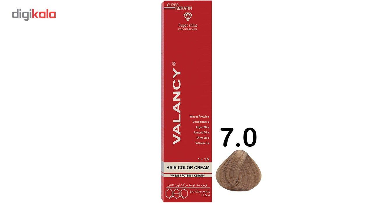 رنگ مو والانسی سری طبیعی مدل بلوند تیره شماره N6 main 1 1