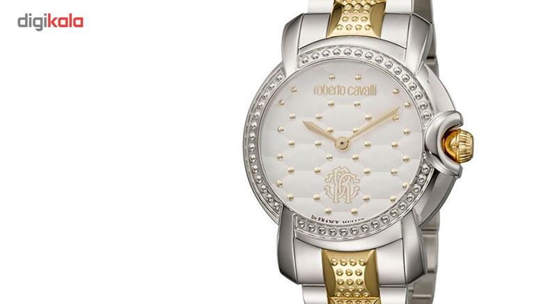 ساعت مچی عقربه ای زنانه روبرتو کاوالی مدل RV1L019M0141