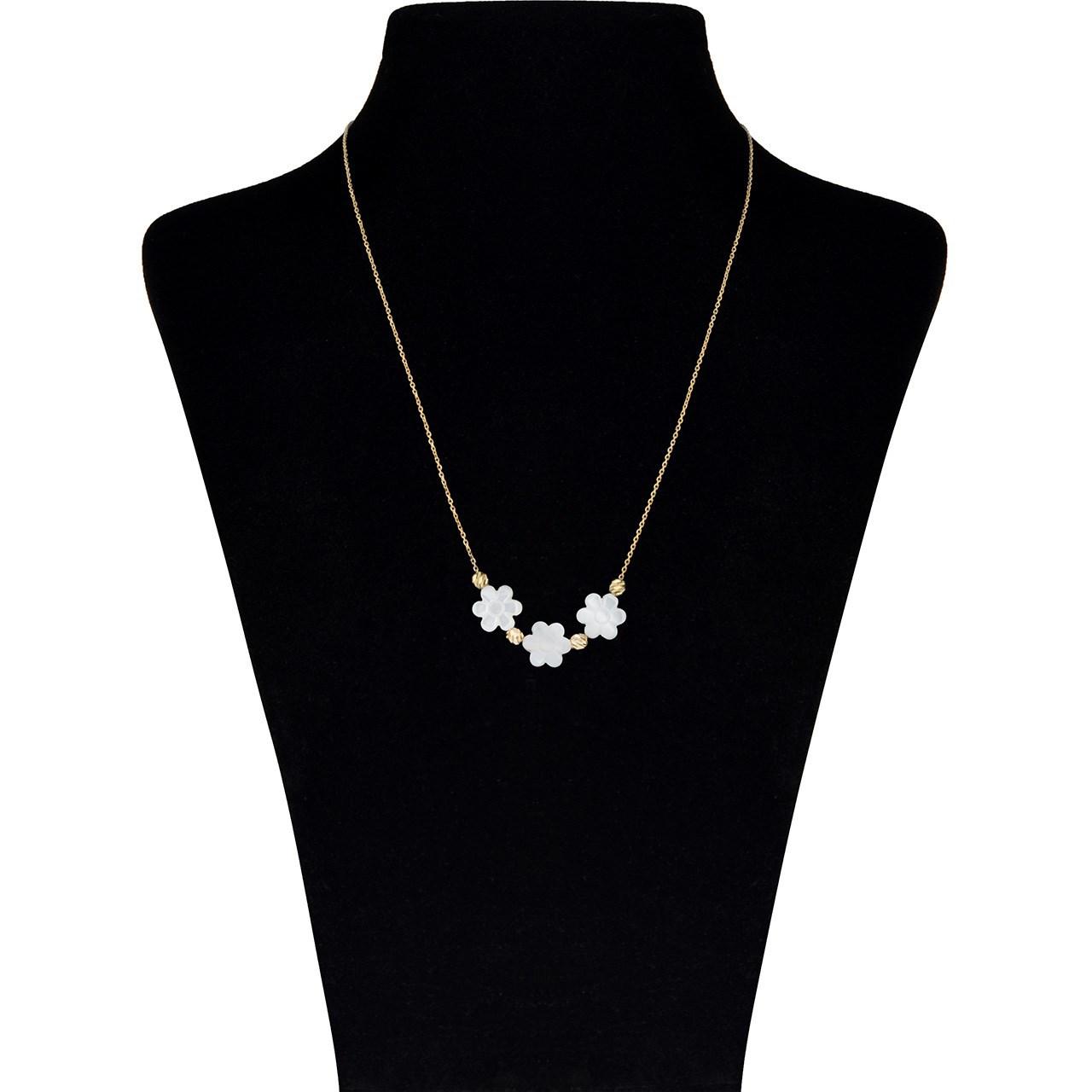 قیمت گردنبند طلا 18 عیار ماهک مدل MM0798 - مایا ماهک