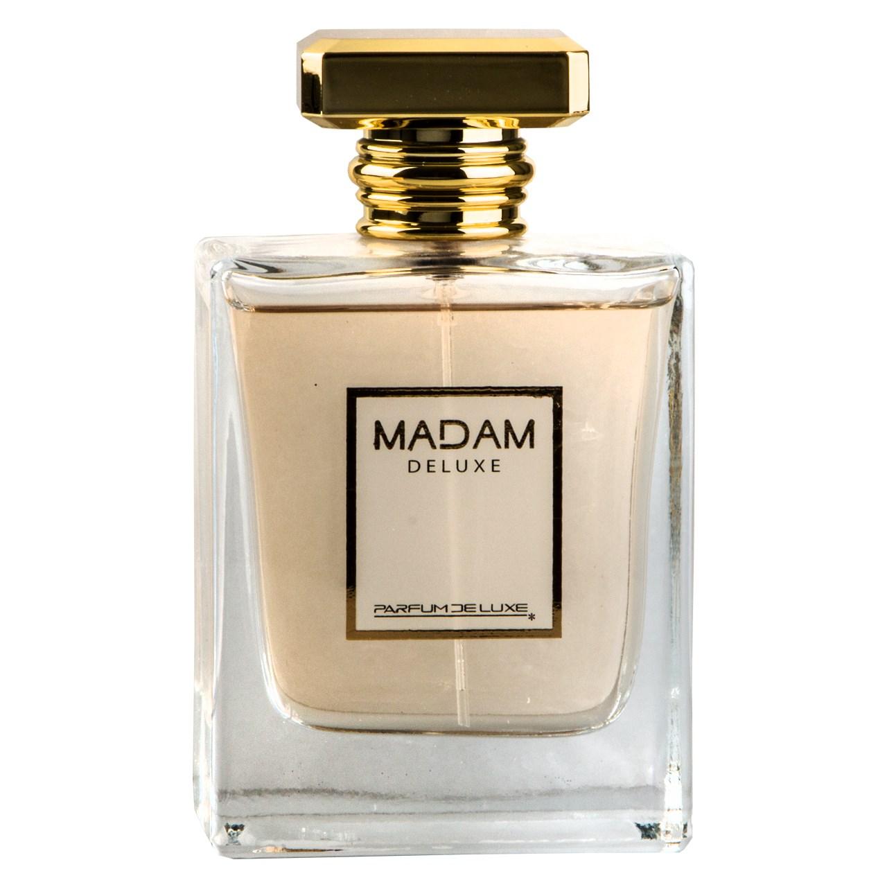 ادوپرفیوم زنانه دلوکس مدل Madam Deluxe  حجم 100 میلی لیتر