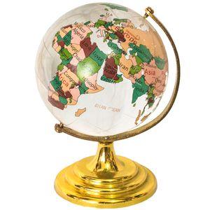ماکت طرح کره زمین رنگی کد AL-9130005