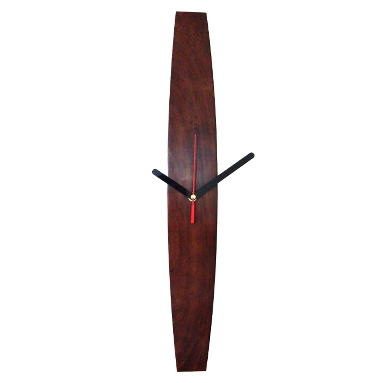 ساعت دیواری چوبی تی دار مدل Ct01