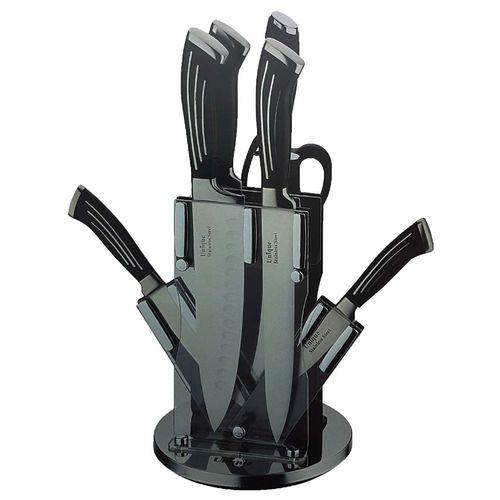 سرویس 9 پارچه چاقو یونیک مدل 5544