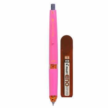 مداد نوکی ضربه ای  پایلوت مدل 505 به همراه یک بسته نوک 0.5 پایلوت