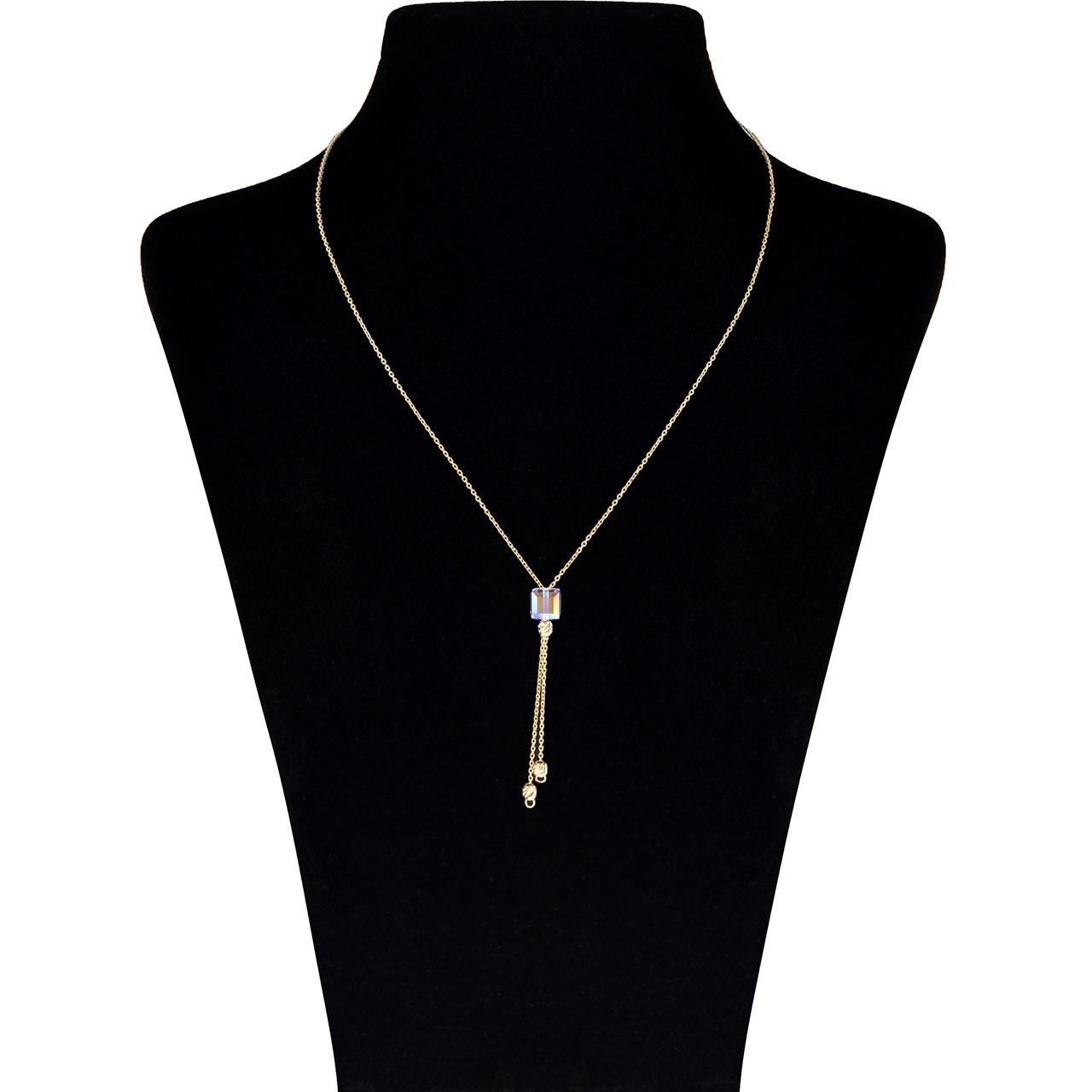 گردنبند طلا 18 عیار ماهک مدل MM0791 - مایا ماهک
