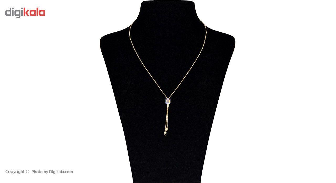 گردنبند طلا 18 عیار ماهک مدل MM0791 - مایا ماهک -  - 1