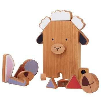 اسباب بازی چوبی پوپولوس مدل ZeeZoo