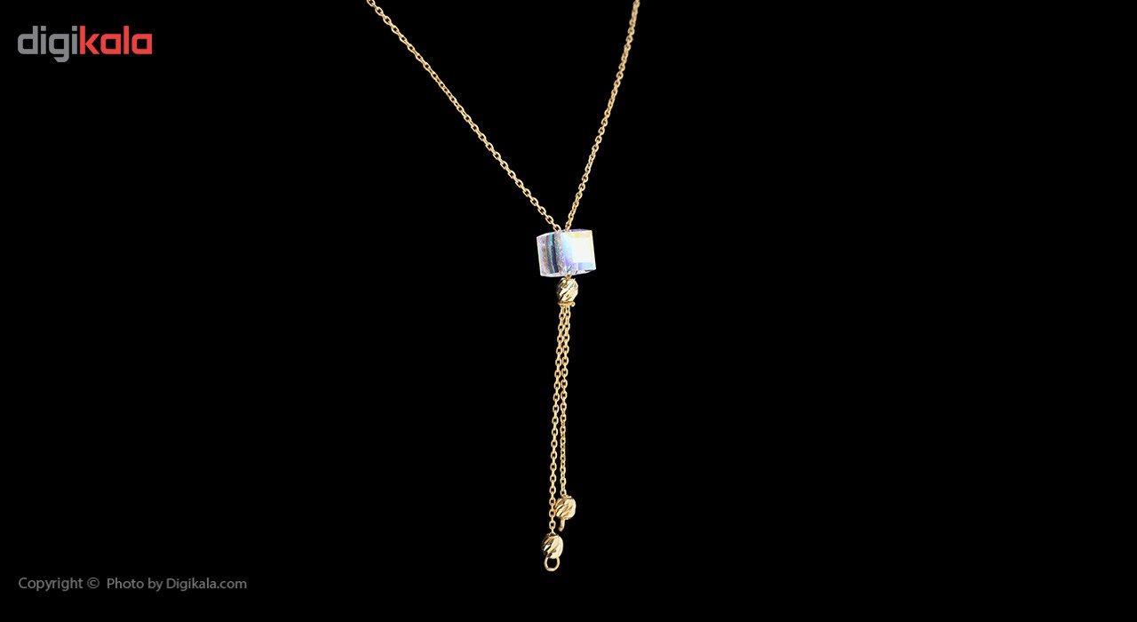 گردنبند طلا 18 عیار ماهک مدل MM0791 - مایا ماهک -  - 2