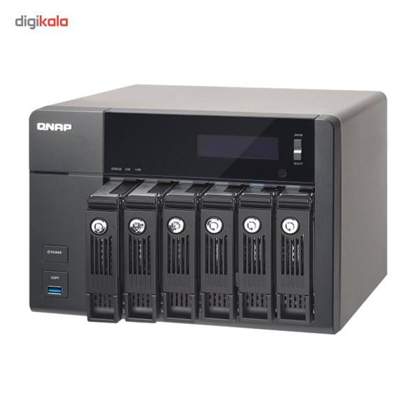 ذخیره ساز تحت شبکه کیونپ مدل TS-6538G Pro بدون هارددیسک