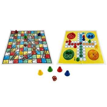 بازی منچ و مارپله فکرآوران کد 038