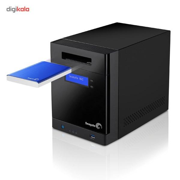 ذخیره ساز تحت شبکه 4Bay سیگیت مدل بیزینس استوریج STBP4000200 ظرفیت 4 ترابایت