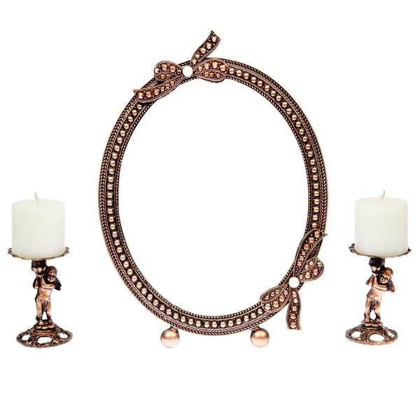 آینه و شمعدان فرشته  آرت کن مدل AM902