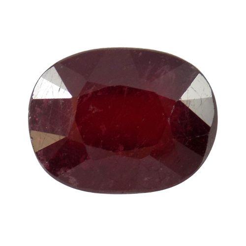 سنگ یاقوت سرخ تاج گوهر کد TG199