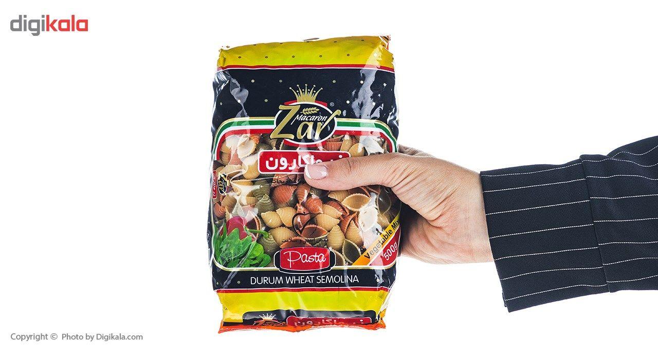 ماکارونی شلز سبزیجات زر ماکارون مقدار 500 گرم main 1 4