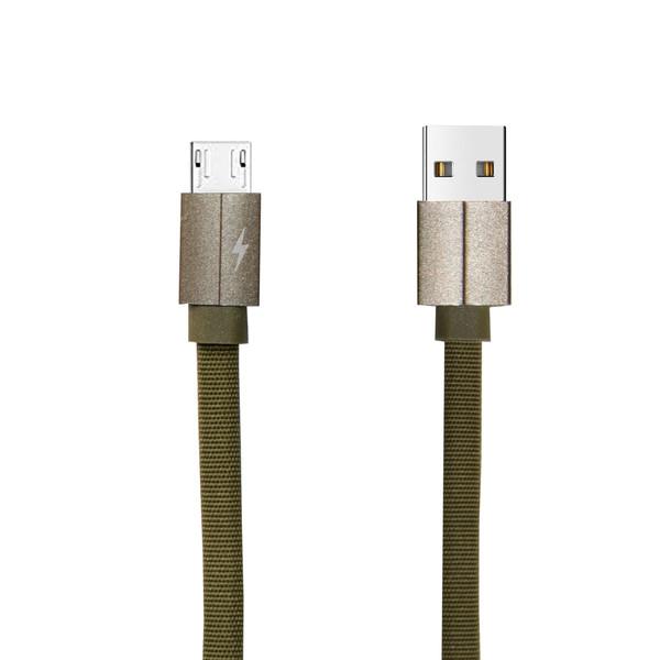 کابل تبدیل USB به microUSB مدل FPC طول 0.25 متر