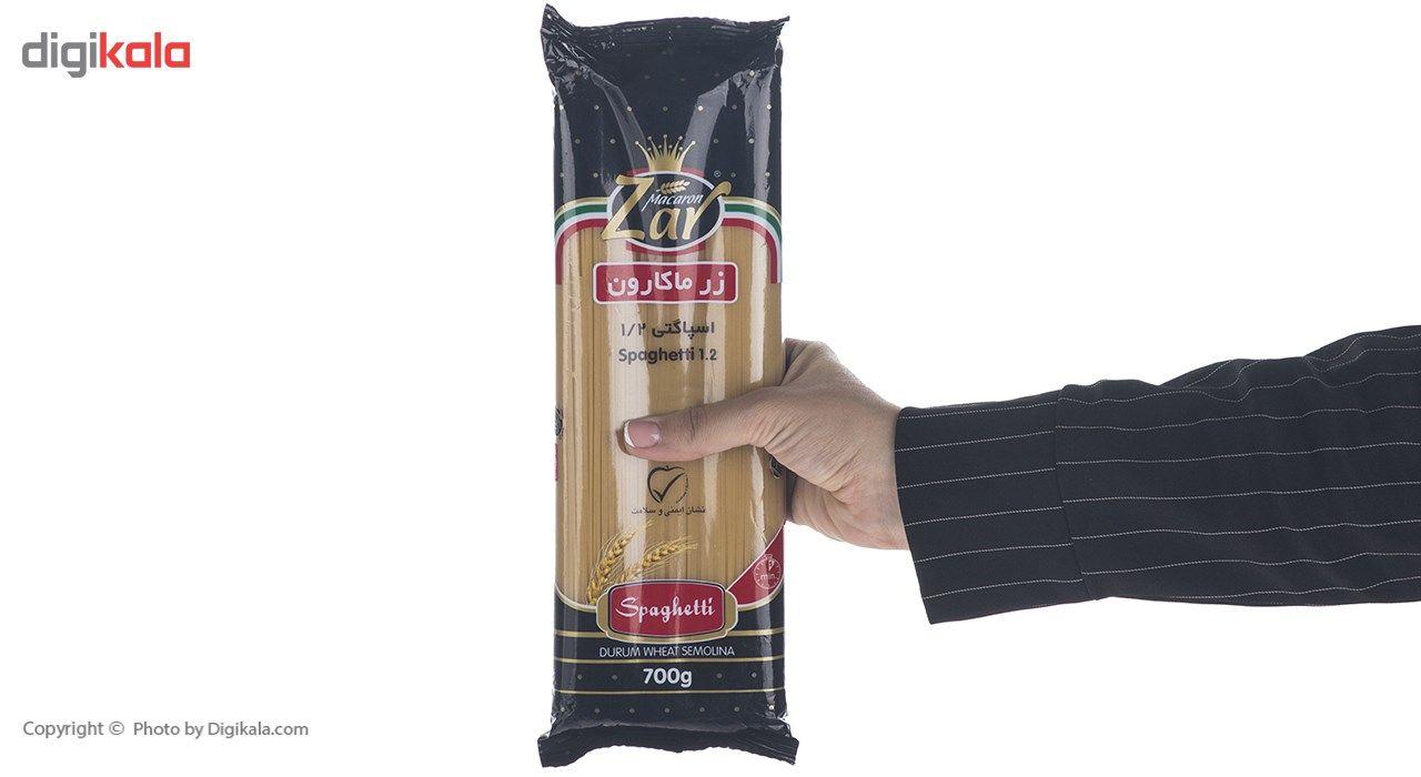 اسپاگتی قطر 1.2 زر ماکارون مقدار 700 گرم main 1 4