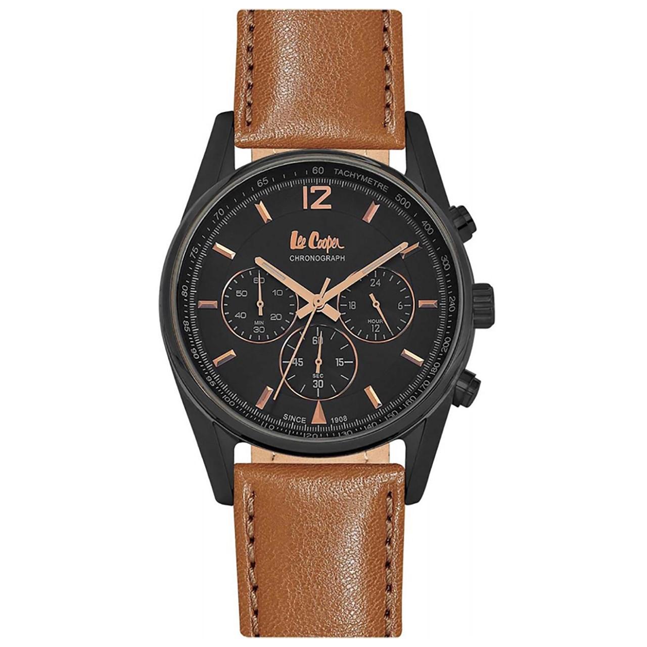 ساعت مچی عقربه ای مردانه  لی کوپر مدل LC06415.055
