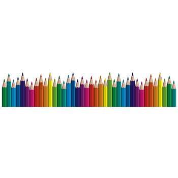 استیکر نواری ژیوار طرح مداد رنگی
