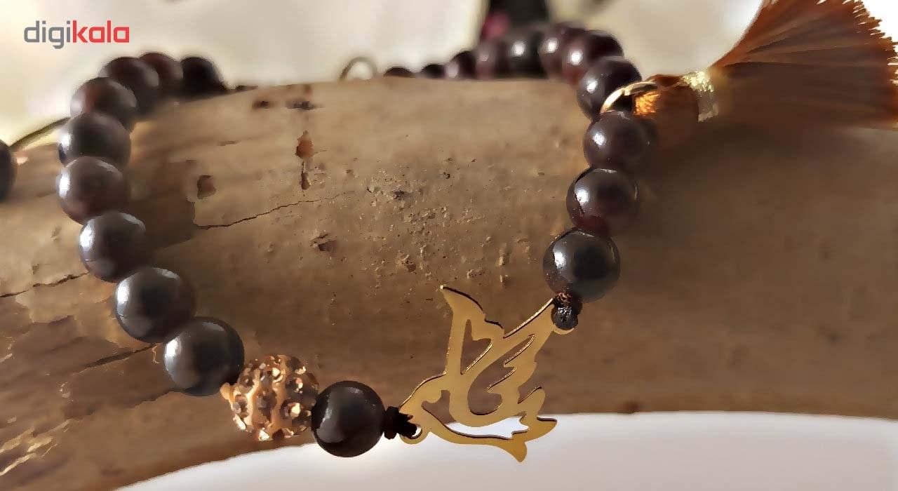 دستبند طلا 18 عیار گالری آمانژ مدل D147