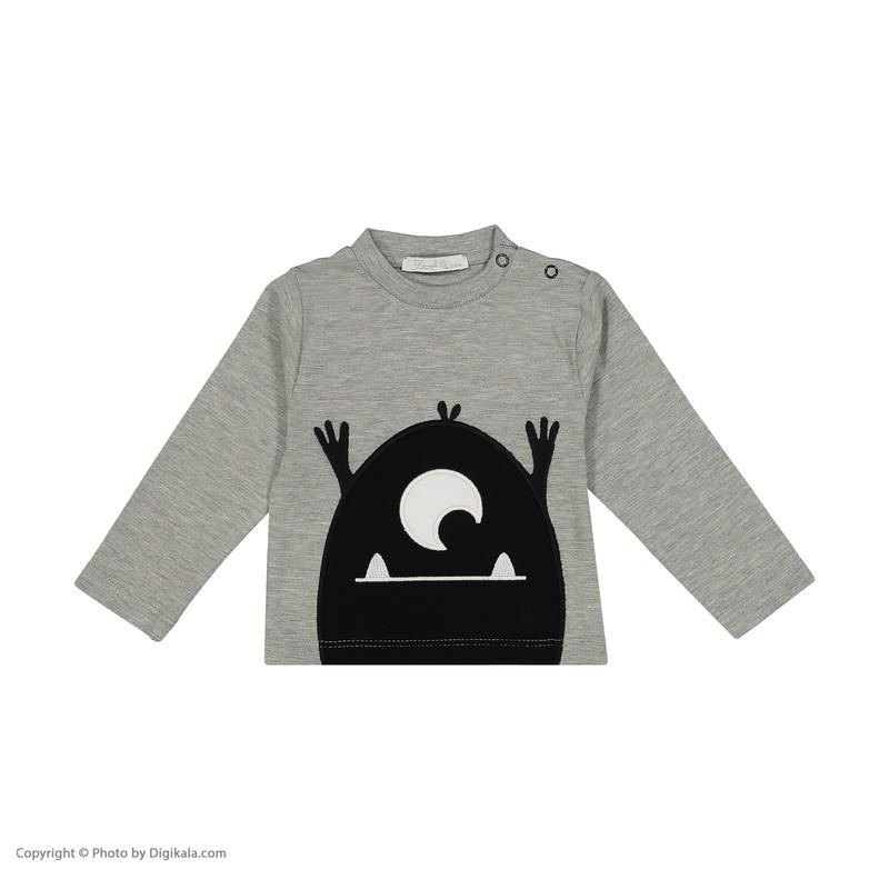 ست تی شرت و شلوار نوزادی فیورلا کد 20542