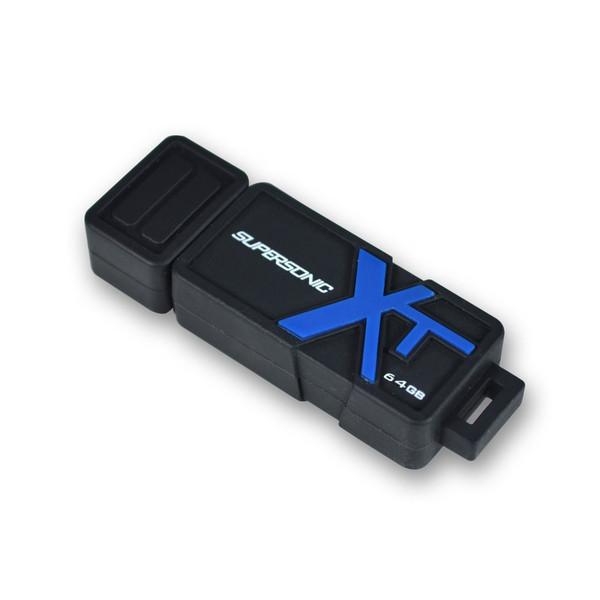 فلش مموری پتریوت مدل SUPERSONIC BOOST XT USB3.1 Gen1 ظرفیت 64 گیگابایت