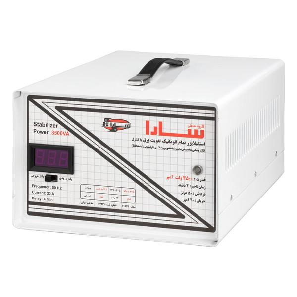 استابیلایزر سارا مدل T135S ظرفیت 3500VA مناسب ماشین لباسشویی
