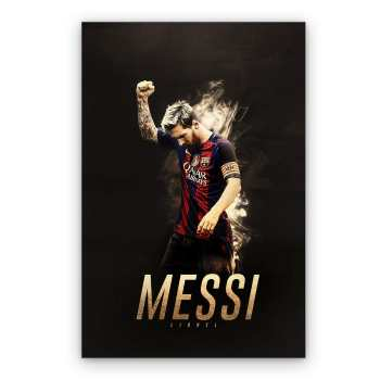 تابلو شاسی گالری دکوماس طرح لیونل مسی کد Messi DMS-T123