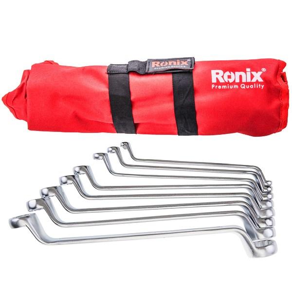 مجموعه 8 عددی آچار رینگ رونیکس مدل RH-2301