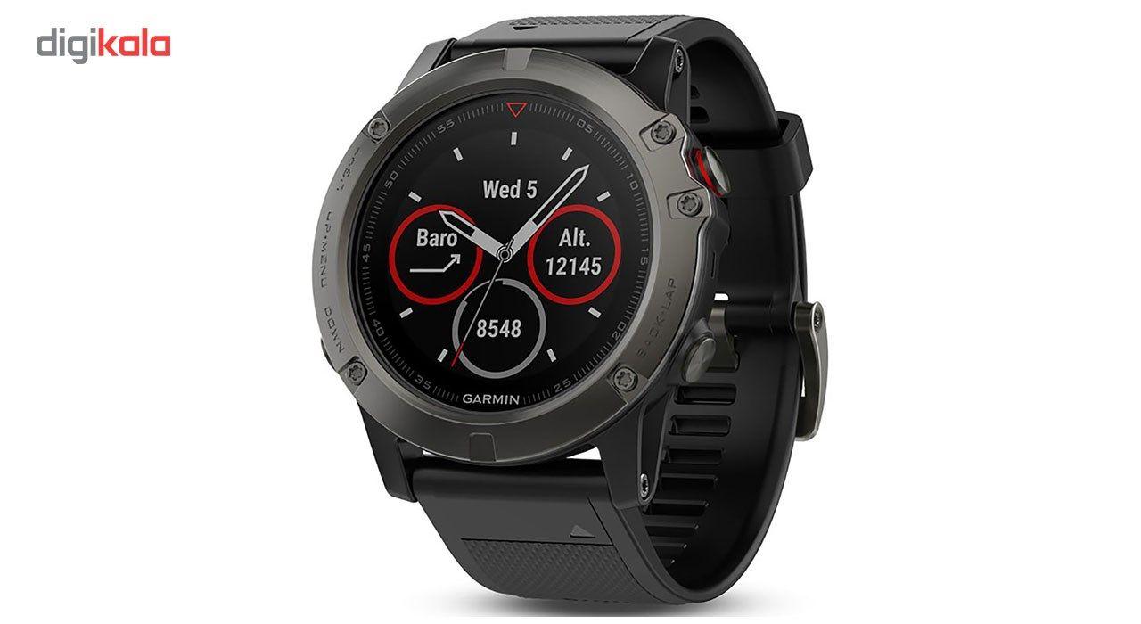 ساعت مچی هوشمند گارمین مدل FENIX5X 010-01733-01