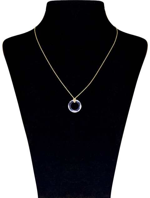 گردنبند طلا 18 عیار ماهک MM0785 - مایا ماهک