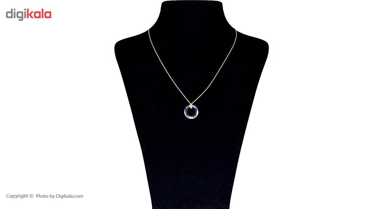 گردنبند طلا 18 عیار ماهک MM0785 - مایا ماهک -  - 1