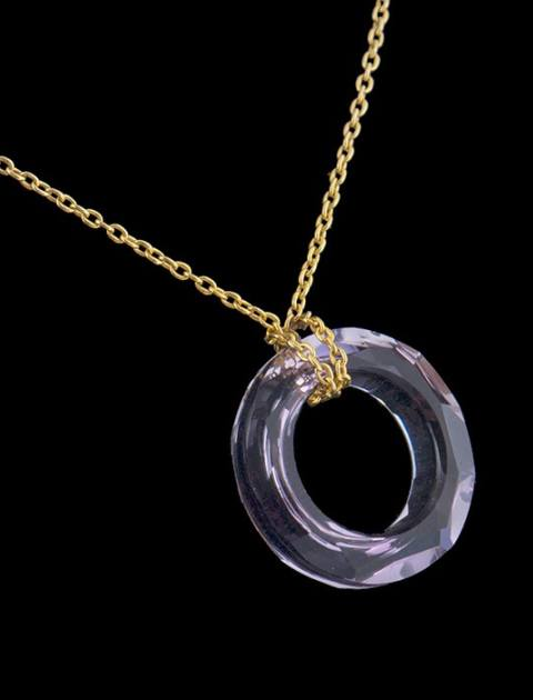 گردنبند طلا 18 عیار ماهک MM0785 -  - 2