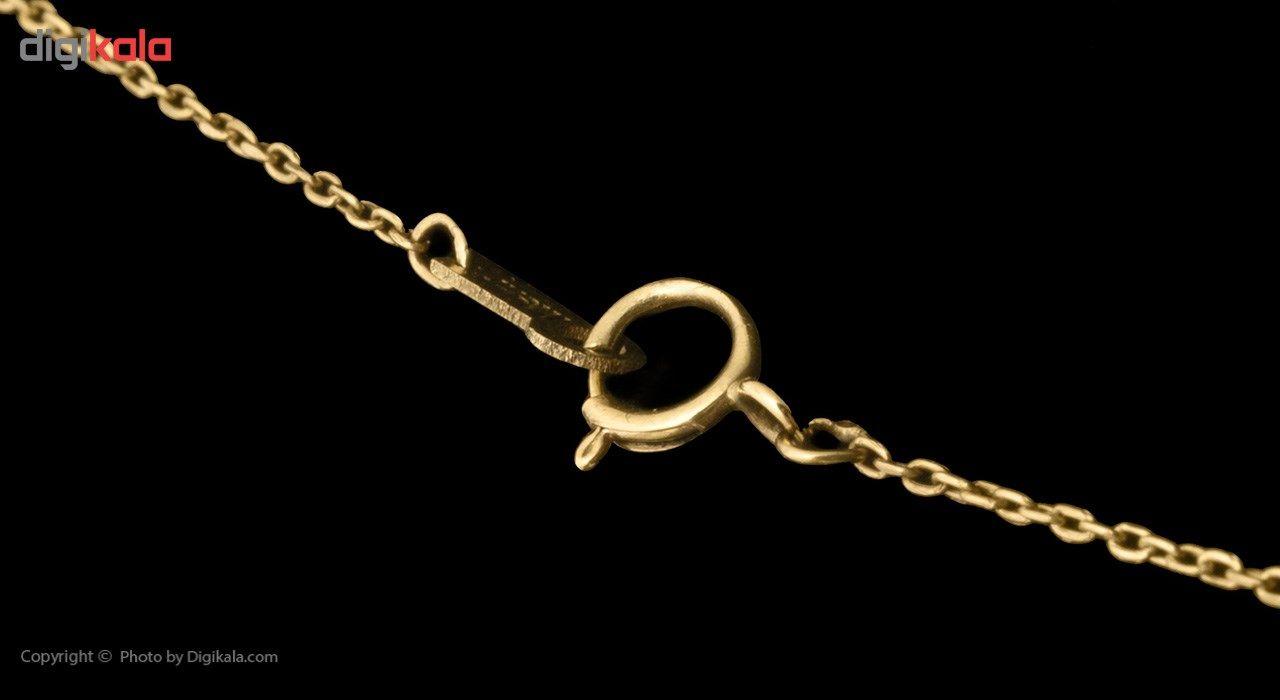 گردنبند طلا 18 عیار ماهک MM0785 - مایا ماهک -  - 4