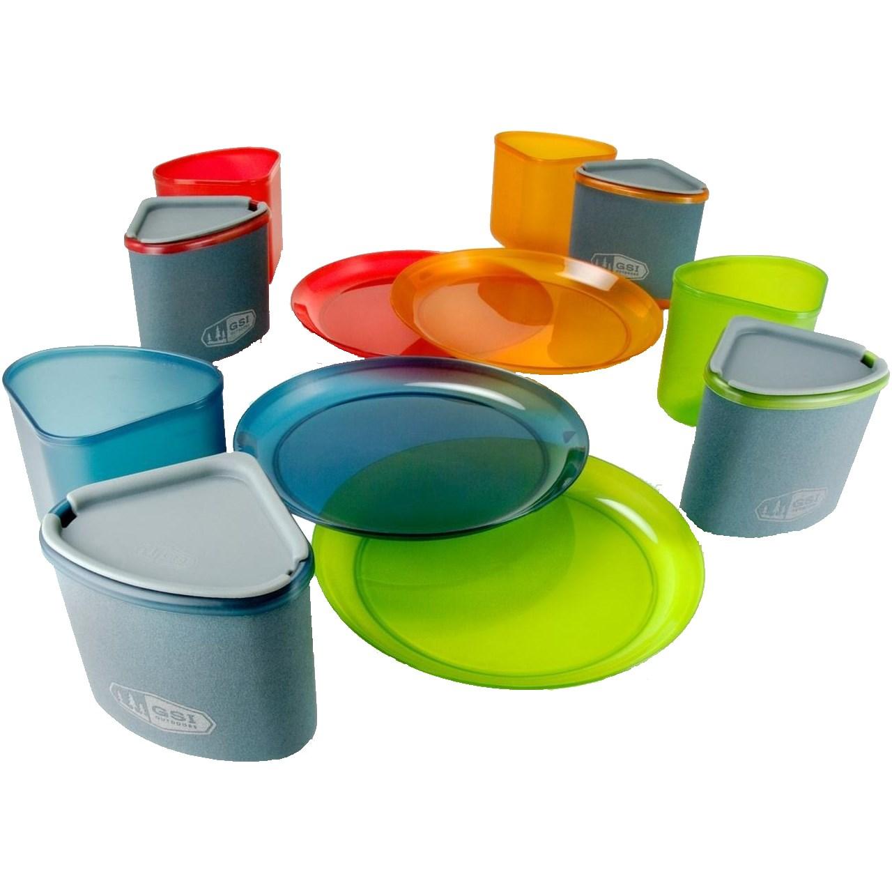 ست ظروف غذا جی اس آی مدل  Infinity Compact table