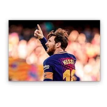 تابلو شاسی گالری دکوماس طرح لیونل مسی کد Messi DMS-T127