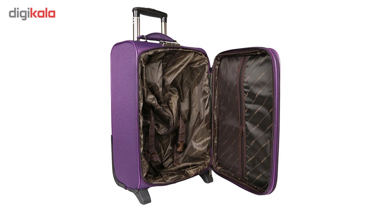 مجموعه سه عددی چمدان مدل تاپ یورو
