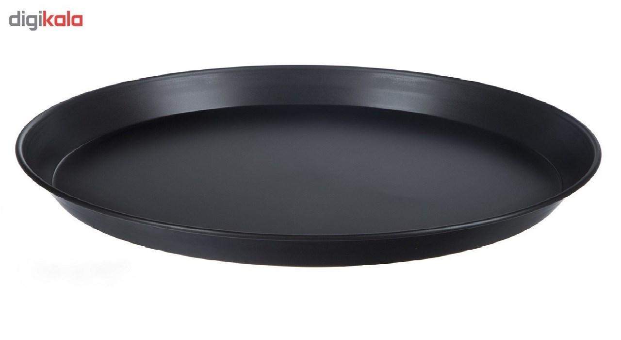 ظرف پخت پیتزا میلاد مدل M23 -بسته دو عددی