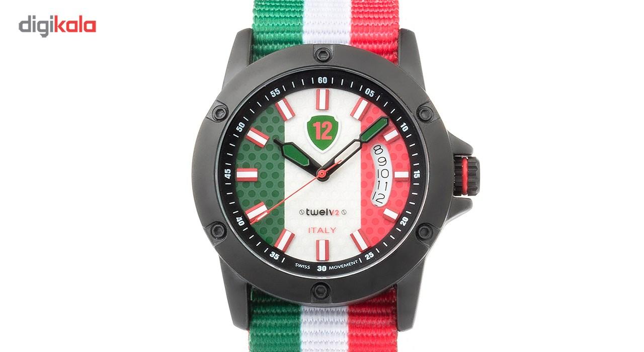 ساعت مچی عقربه ای توولو طرح پرچم ایتالیا