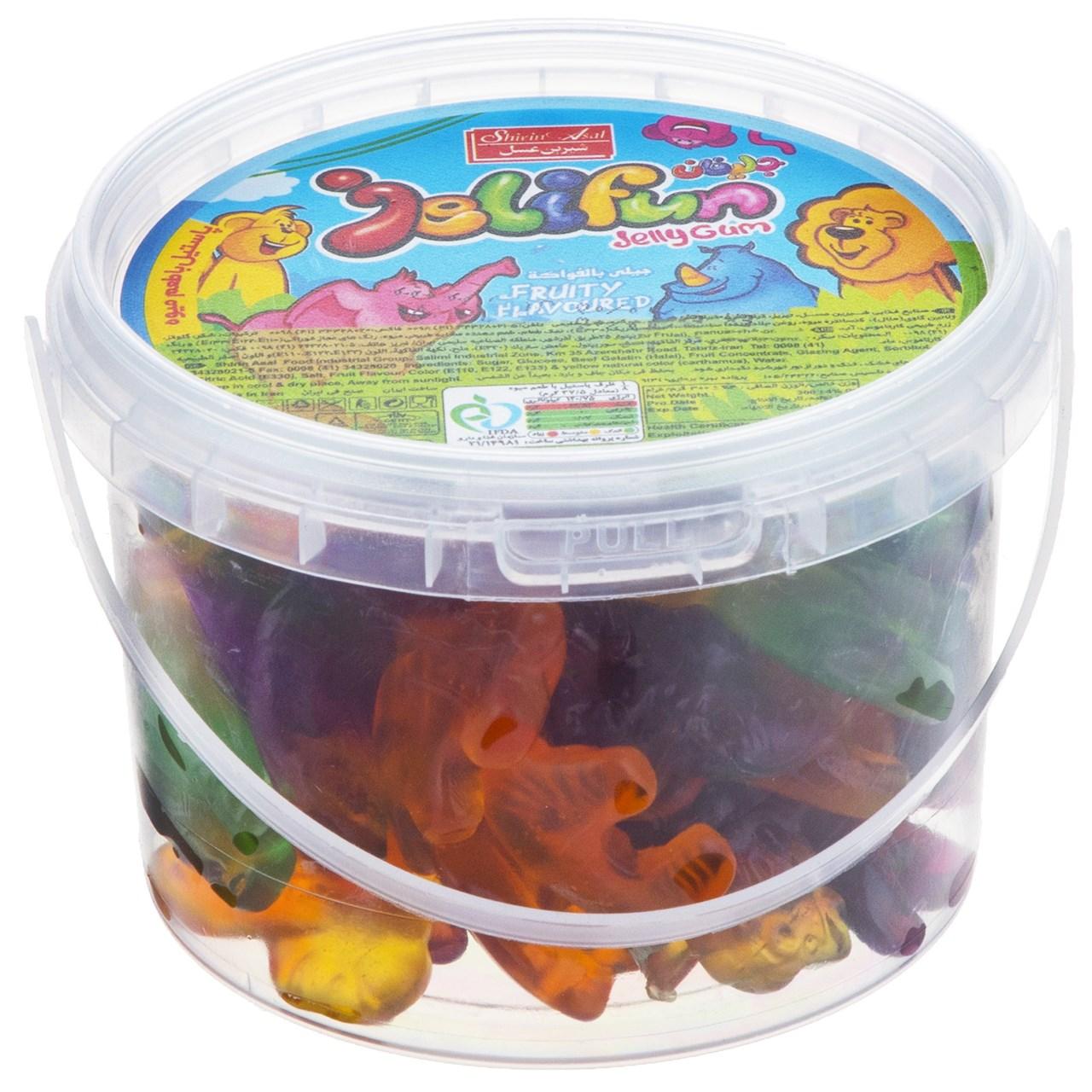 پاستیل میوه ای شیرین عسل مدل Animals مقدار 300 گرم