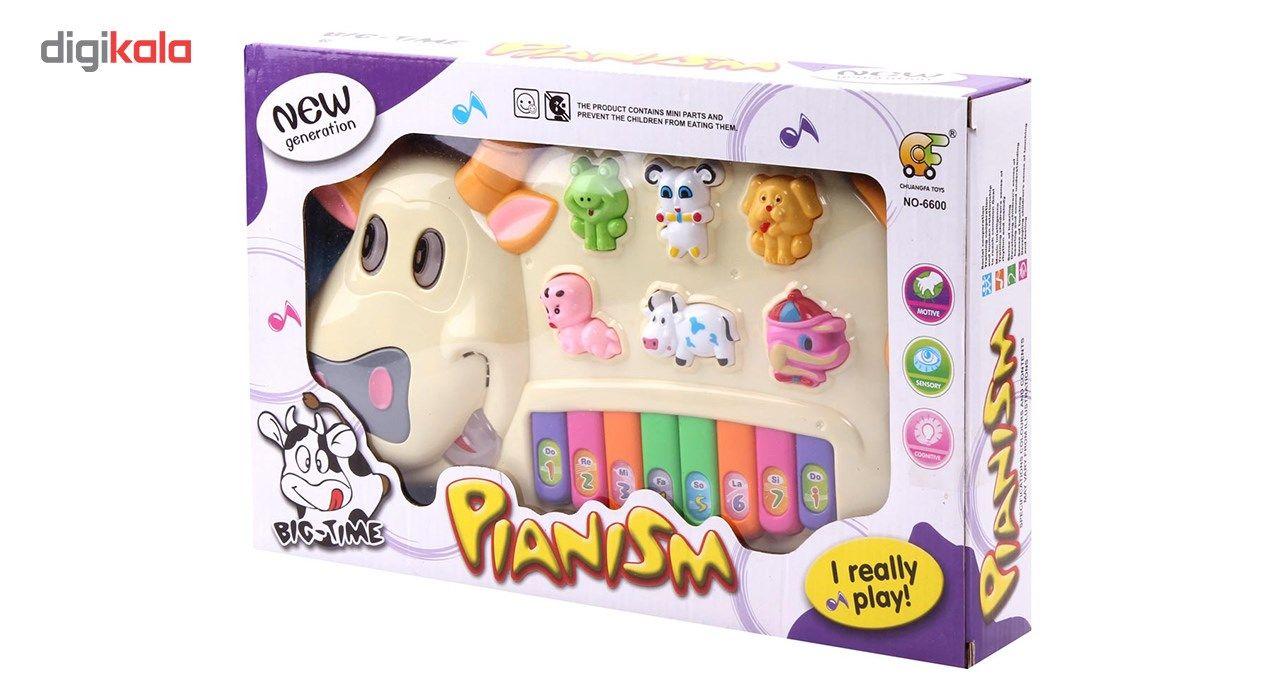 اسباب بازی آموزشی ارگ موزیکال طرح حیوانات مدل Happy Cow main 1 2