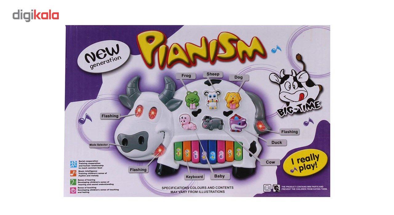 اسباب بازی آموزشی ارگ موزیکال طرح حیوانات مدل Happy Cow main 1 3