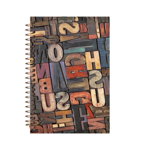 دفتر لغت مشایخ طرح حروف انگلیسی کد 9020