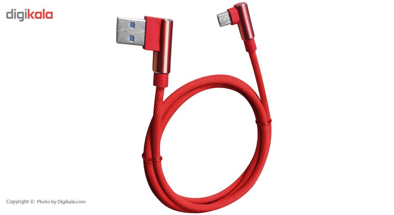 کابل تبدیل USB به microUSB تسکو مدل TC 57N طول 1 متر main 1 1