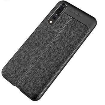 کاور ژله ای طرح چرم مناسب برای گوشی موبایل هواوی Huawei P20 PRO