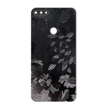 برچسب پوششی ماهوت مدل Wild-flower Texture مناسب برای گوشی  Huawei Y7 Prime 2018