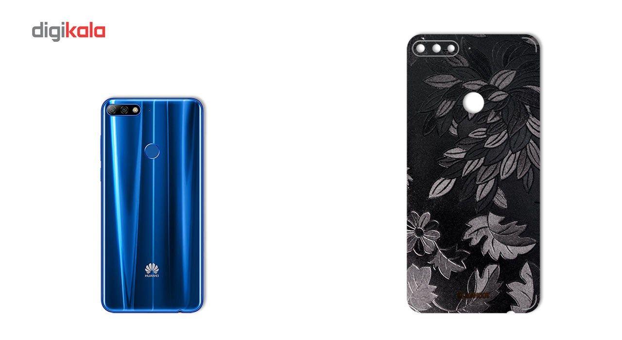 برچسب پوششی ماهوت مدل Wild-flower Texture مناسب برای گوشی  Huawei Y7 Prime 2018 main 1 1