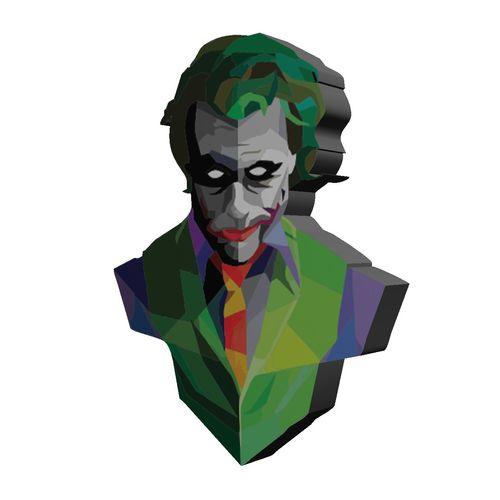 استیکر چوبی  تزیینی بانیبو مدل Joker